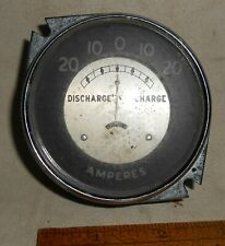 Vintage Amp Gauge Curved Glass : Packard Ford Mopar Rat Rod Chevy Buick SS RT GT