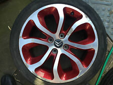 CITROEN C3 PICASSO DS3 17' INCH CLOVER RED ALLOY WHEEL 9682387680 or 9671587277