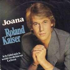 """Roland Kaiser Joana 7"""" Single Vinyl Schallplatte 33715"""