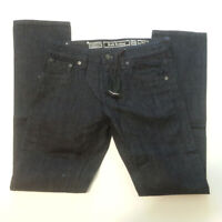 Rock Revival Men Jeans David Slim Straight Size 32x34 Cotton