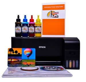 Sublimation printer A4 non oem Epson ET-2711/4 starter bundle kit