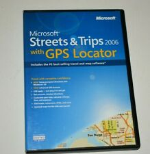 Microsoft Streets and Trips 2006 With GPS Locator 2 Disc