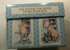 Rare Winnie The Pooh Story Book Box Complete With 20 Books AA Milne EH Shepard