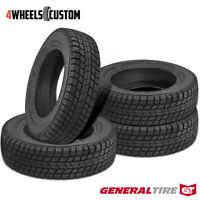 4 X New General Grabber Arctic LT LT245/75R17R10 121/118R Tires