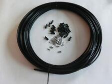 Bremsausenhülle 5mm Teflon Beschichtet inne mit Kappen 20Meter neu!!!!!!!