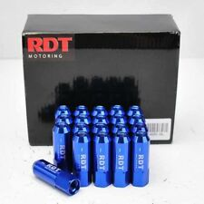 20x BLUE OPEN END ALUMINUM 60MM LUG NUT M12X1.25 FOR SENTRA ALTIMA Q35 M35 Q30