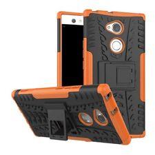 Etui Hybride 2 Pièces Extérieur Orange housse étui pour Sony Xperia XA2 coque