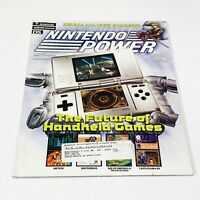 Nintendo Power Magazine Volume 191 + Zelda Poster N64 Gamecube Cards Ds Gba