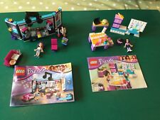 Lego Friends 41103 & 3936 Pop Star Recording Studio + Emma's Design Studio