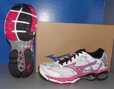 WOMENS MIZUNO WAVE CREATION 16 in colors WHITE / ROSE / BLACK SIZE 6.5