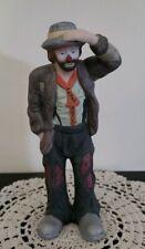 "Vintage Emmett Kelly Jr. Porcelain Willie Clown Figurine ""Looking Out to Sea"""