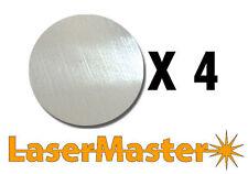 4 x 3mm Aluminium 60mm Diameter Discs