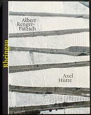 Albert RENGER-PATZSCH / Axel HÜTTE. Rheingau. Boehringer Ingelheim, 2010. E.O.