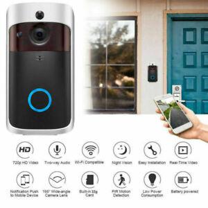 Smart Video Doorbell WiFi Wireless Intercom 720P Door Bell Security Camera G9K1