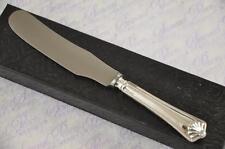 SHEFFIELD STERLING SILVER HANDLED BUTTER KNIFE SHELL PATTERN 1918