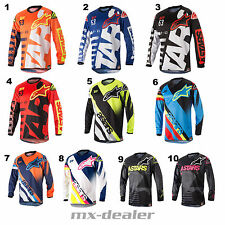 18 Alpinestars Cross Jersey Shirt Racer Braap Supermatic mx motocross Enduro BMX