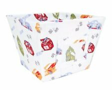 Trend Lab Scatter Print Fabric Storage Bin, Nascar - New