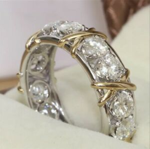 Eternity Ring With Stones Size 10