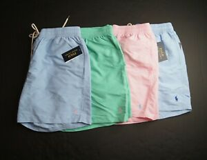 "POLO RALPH LAUREN Men's 5.5"" Traveler Swim Trunks NEW NWT"
