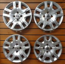 "Set Of 4 New 2010 2011 2012 Fits Nissan Sentra Hubcaps 16"" Wheel Covers 53084"