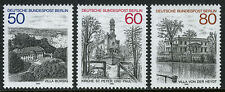 Germany-Berlin 9N476-9N478, MNH. Villa Borsig, Church, Villa von der Heydt, 1982