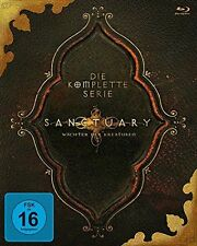 SANCTUARY : COMPLETE SEASON 1 2 3 4  Box Set - Blu Ray - Sealed Region B