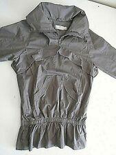 Stella Mc Cartney women's windbreaker jacket size S Gray