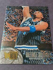 1995-96 Fleer Metal #77 Anfernee Penny Hardaway Orlando Magic HOF NBA Foil