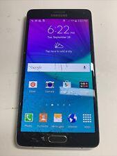 New listing Samsung Galaxy Note 4, Unlocked, 32Gb, Glass Cracked ; Aa212