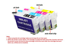 FOR Europe 34XL Refillable Ink Cartridges Set Of 4, Save Money, UK based
