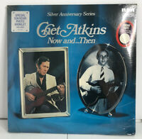 Chet Atkins - Now & Then Silver Anniversary Series LP (1972) SEALED Hype Sticker