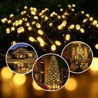 Solar Power Fairy Lights String Lamps Party Wedding Decor Garden Outdoor J4C2