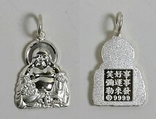 Sterling Silver Male BUDDHA Pendant Charm
