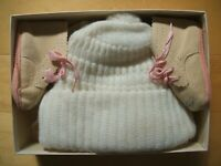 Vintage Baby Girl's Bonnets and Booties