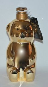 BATH BODY WORKS GOLD HONEY BEAR BEE DEEP NOURISHING HAND SOAP DISPENSER HOLDER