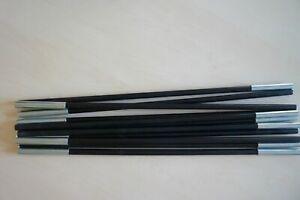 dwt Zeltstange hochwertiges Fiberglasgestänge 586 cm ø12,5mm 11 Stangen