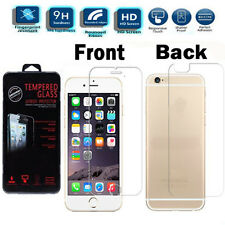 """Genuine Gorilla Front & Back Tempered Glass Screen Protector For iPhone 6S 4.7"""""""