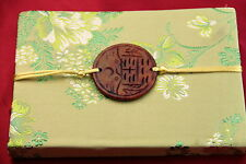Cahier chinois-Journal Intime-Satin-Chinese Notebook-quaderno cinese-vert