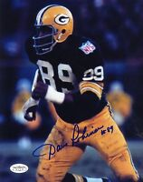 DAVE ROBINSON PACKERS SIGNED JSA STICKER 8X10 PHOTO AUTHENTIC AUTOGRAPH