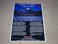 SAE D102 CD Player Ad, 1987, 1 page, Article, High-End!