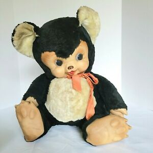 Vintage Rushton Collectible Huge Teddy Bear Panda Stuffed Animal