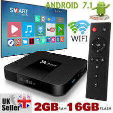 2018 TX3 Mini 2GB+16GB Android 7.1 Quad Core TV Box 17 HD Media Player Wifi UK