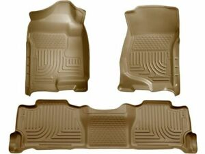 For 2007-2013 Cadillac Escalade EXT Floor Mat Set Front and Rear Husky 12448JW