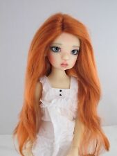 Monique PRETTY GIRL Wig Carrot Red color Size 8-9 BJD shown on Mei Mei