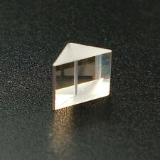 30PCS 5x5x5mm Triangle Optical Glass Prism w/ Defective for Decoration Teaching