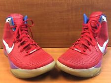 2011 Nike Zoom Hyperdunk Flywire Supreme PE Sport Red/Silver 469776-601 Size 13
