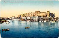 NAPOLI – S. Lucia e Castello dell'Ovo – Naples – Italy