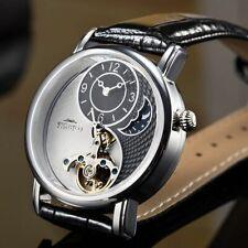 Tourbillon Luxury Automatic Mechanical Men Business Watch Sapphire Crystal Dial