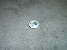 Limoges Made In France Round Trinket Box