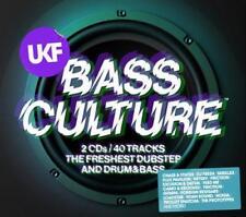 UKF BASS CULTURE – V/A  2CDs (NEW/SEALED) Dubstep & Drum & Bass